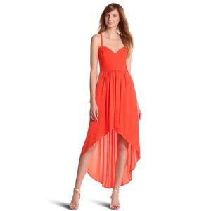 BCBG MAXAZRIA Annamae Dress with Hi-Low Hem